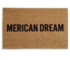 Merican Dream Doormat