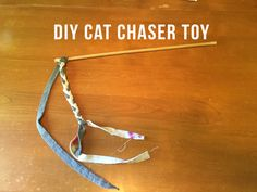 DIY Cat Chaser Toy on Shelby Clarke Blog