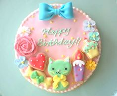 It had to be at least one of my followers birthdays. So here is a cake if it is you happy birthday