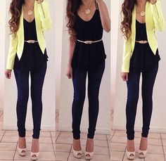 outfit formal juvenil mujer - Buscar con Google