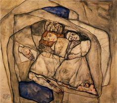 Egon Schiele, Conversion, 1912