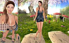 LISANA'S MODEL LIFE: Mesange Eyes, Dafnis Clothes, !Indulge Temptation!...