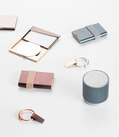 French designer Pauline Deltour designed a collection of sleek mobile devices for Lexon that are perfect for the modern, urban lifestyle, letting you switch back and forth between work and leisure time