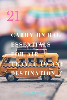 Take the carry-on bag only challenge and reduce the stress of packing and unpacking from a couple of hours to less than 15 minutes with these 21 multi-use items. Summer Travel Packing, Carry On Packing, Packing List For Cruise, Packing List For Vacation, Packing Tips, Carry On Bag Essentials, Travel Essentials, Air Travel, Travel Light