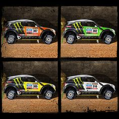 Meet the four MINI All4 Racing ready to keep the X-Raid Team way ahead of the competition at the Dakar Rally this January.