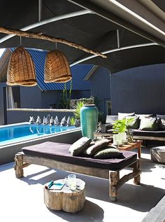 8 Exquisite Pools + Chic Pool Furniture -- One Kings Lane  Oh, yeah!