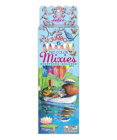 Love this Boat Ride Mixies Colored Pencil - Set of Six by eeBoo on #zulily! #zulilyfinds
