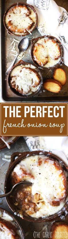 The Perfect French Onion Soup