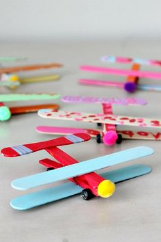 40 Creative Popsicle Stick Crafts For Kids,Popsicle sticks are one of those craft items which you can always find in your craft stash. They are so inexpensive, fun and provide endless options f. Popsicle Stick Crafts For Kids, Craft Stick Crafts, Easy Crafts, Diy And Crafts, Popsicle Sticks, Summer Crafts For Kids, Spring Crafts, Projects For Kids, Diy For Kids