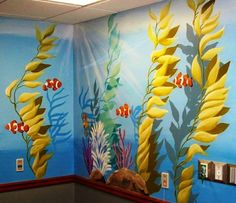 Painted Wall Murals surfing mural, murals surf, painted wall murals, boys room