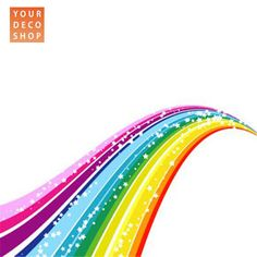 Rainbow Wall Decal | Rainbow Bridge Wall Sticker