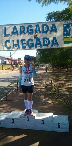 1° Mini Maratona de Veteranos Corpo em Ação. 1° Lugar na minha faixa etária.