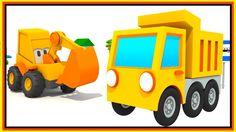Excavator Max - DUMP TRUCK Construction - Children's Cartoons