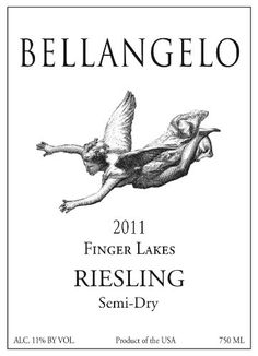 2011 Bellangelo Finger Lakes Semi Dry Riesling 750 mL * More info could be found at the image url.