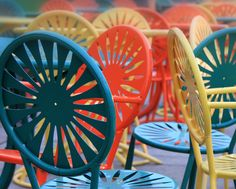 16x20 Memorial Union Chairs Canvas from AW Artworks LLC for $99.00