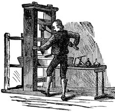 Gutenberg's Printing Press – 'Instructions and Procedure ...  Clancy's happy place - WordPress.com  printing-press-invention-2