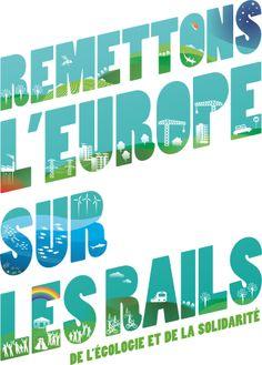 Le site web des Jeunes Ecolos dédié à la campagne des élections européennes. Le leitmotiv : Remettons l'Europe sur les Rails !
