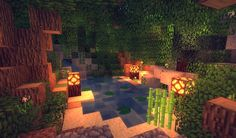 Minecraft shaders environment