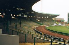 East Terrace at Celtic Park, Glasgow. Demolished in the summer of Paisley Scotland, Celtic Fc, Football Stadiums, Glasgow, Old And New, Terrace, Old Things, Park, City