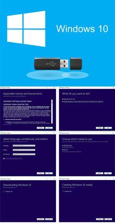 Cum să faci un stick usb cu Windows 10 Microsoft Software, Windows 10, Usb