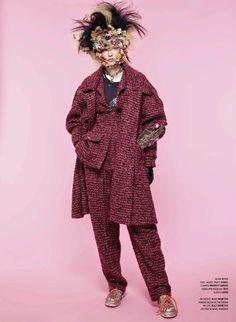 Sasha Luss by Anthony Maule for V Magazine Fall 2014