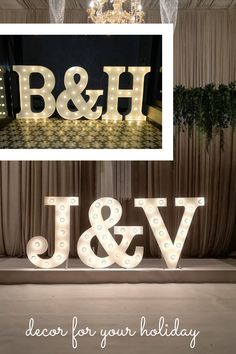Lights Number Birthday Party Decorating by LAvenueStudio. Wedding oversized lighting decoration for indoor and outdoor. Custom led letters & Big number lights for event, wedding, the birthday of baby, kids and adults, anniversaries and other party