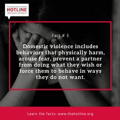 You are not alone. Call 1-800-799-7233 (SAFE) or chat online at www.thehotline.org We are here for you 24/7/365.