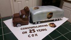 Amy's Crazy Cakes - UPS Truck Cake
