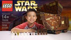 LEGO SANDCRAWLER - LEGO Star Wars UCS Set 75059 Time-lapse, Stop Motion,...