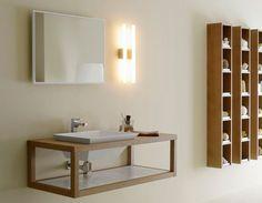 Muebles para cuarto de baño. #baño #hogar #decoracion | mdminteriorismo.es