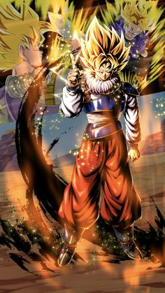 Dragon ball z Son Goku vs Trunks Dragon Ball Z, Dragon Ball Image, Son Goku, Goku 2, Goku Pics, Ball Drawing, Z Arts, Animes Wallpapers, Character Illustration