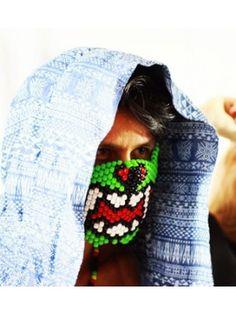 Green Monster Kandi Mask