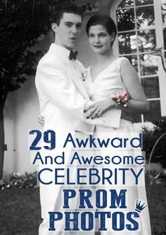29 Awkward And Awesome Celebrity Prom Photos