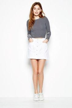 Capenhurst Denim Skirt from Jack Wills Jack Wills, British Style, Denim Skirt, Mini Skirts, Mens Fashion, Lady, Clothes, Shopping, Women