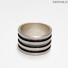Kamirca-Karina Miranda_Joyas de Autor- Anillo plata 950