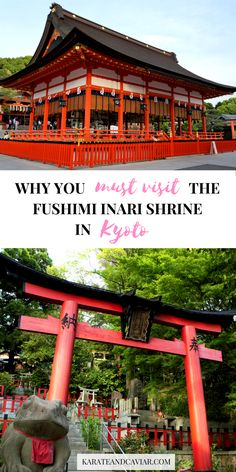 Guide to Vising the Inari Fushimi Shrine in Kyoto | Temples in Japan