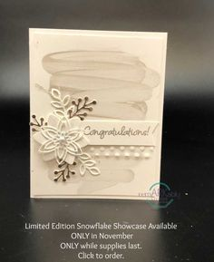 Stampin' UP! Snowflake Showcase Blog Hop - RemARKable Creations Happy Anniversary Wishes, Wedding Anniversary Cards, Christmas Cards 2018, Stampin Up Christmas, Hand Made Greeting Cards, Making Greeting Cards, Snowflake Cards, Snowflakes, Wedding Cards Handmade