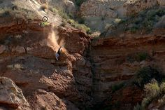 Dustin's crash at the Rampage venue reminds us how unforgiving the terrain can be.