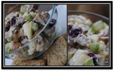 "healthy ""waldorf style"" chicken salad"
