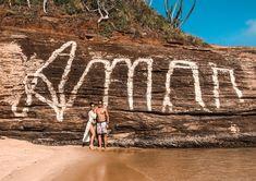 Pedra Amar na Praia