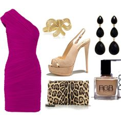 One of my many polyvore creations...I really want somewhere to wear something like this.