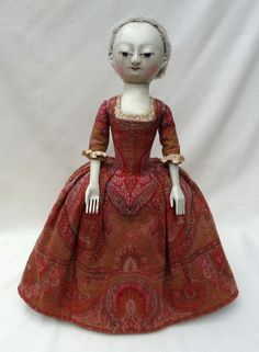The finest museum quality reproductions and restorations of 17th and 18th century English wooden dolls