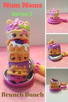 This Num Noms Series 2 Brunch Bunch Pack sure smells yummy!  Waffles, Pancakes, and Frozen Yogurt makes this a great Brunch Bunch Pack to Collect!