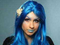 Enchanting Mermaid Makeup - DIY Halloween Costumes and Makeup Tricks on HGTV
