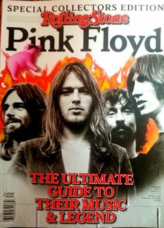 Pink Floyd on the cover of The Rolling Stone - Special collectors edition 12/4/13
