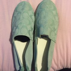 Coach shoes! Coach shoes size 7.5 never worn Coach Shoes
