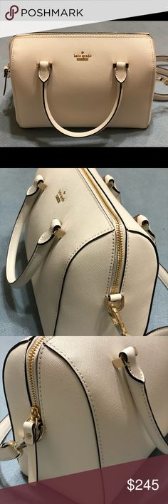 KATE SPADE ♠️ Brand New  Never used it was a gift and I have plenty. Fantastic White for Spring  Make Offer  kate spade Bags Shoulder Bags