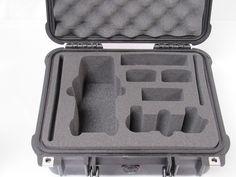 Pelican Case 1400 Replacement Foam Insert For DJI Mavic Drone Fly More Combo (Foam Only)