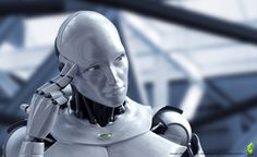Thinking Robot by Menno van Dijk