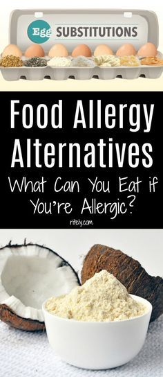Food Allergy Alternatives: What Can You Eat if You're Allergic?
